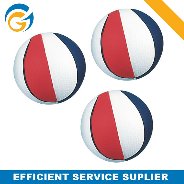 Beach Volleyball Style PVC Inflatable Toy Foam Ball