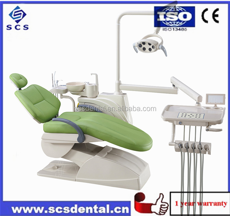 Complete Dental Unit /Rotatable Spitton/Dental Chair China