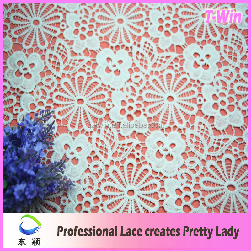 Wedding embroidery strech fabric lace for wedding