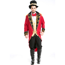 New Cool Red Male Adults Halloween Cosplay Costume