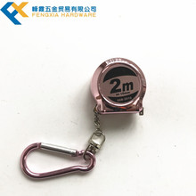 High Quality Tape Mini Measure With Steel Wire Retractable Steel Tape Measure