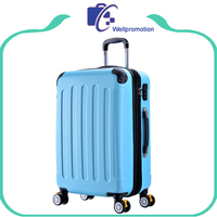 "20"" 24"" 28"" 3 piece trolley luggage set/abs pc luggage suitcase"