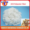 siliconized recycled polyester fiber, 15Dx64mm recycled polyester staple fiber