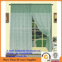 embroidered lace curtains and decoration bedroom curtains