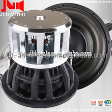 15inch car audio subwoofer big bass subwoofer with RMS 5000w neo motor sybwoofer