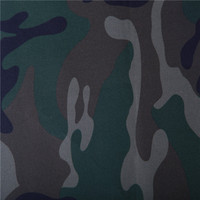 polyester tree forest camouflage printed oxford fabric