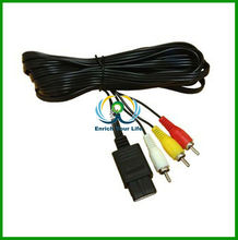 Cheap RCA to SNES N64 AV Cable For Snes For Nintendo N64 Gamecube TV Game System