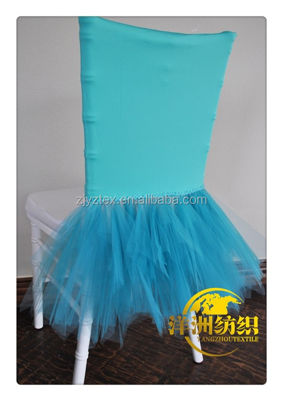 2016 new design spandex skirt chair cover for chiavari chairs
