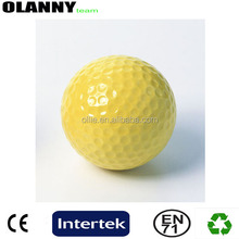 new style driving range yellow floating golf ball