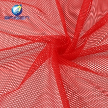 Different polyester red stiff net fabrics