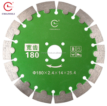 High quality 7 inch diamond blade for cutting granite,porcelain,cement