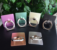Ring Stand Holder Phone Stand Multi-Angle Portable Stand 360 Rotation Luxury 3D Aluminium Alloy Ring Grip Phone Holder