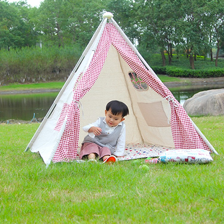 Large Indoor Outdoor Kids Playing Tourist Tent