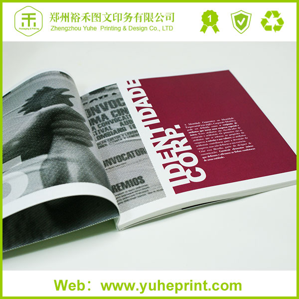 Factory made top grade for government in customized size coated art paper thread binding china cheap softcover book printing