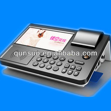 2014 new wireless ANDROID pos machine with machine to print business cards,thermal camera