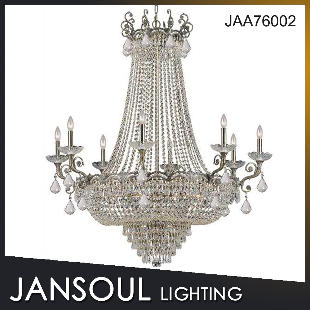 Zhongshan contemporary clear luxury unique crystal chandeliers for weeding