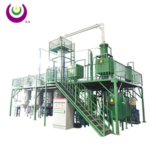 Without pollution gas recycle system waste motor oil recycling distillation equipment