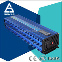 2000w 24vdc to 120vac 60Hz pure sine wave inverter with LCD display and USB port