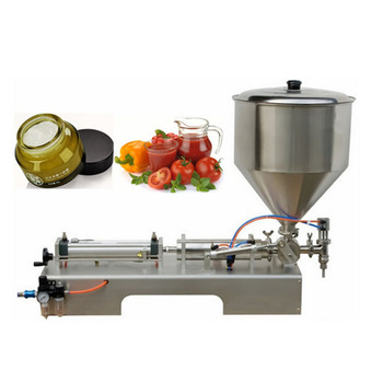 Chinese supplier of high-quality new semi-automatic paste filling machine