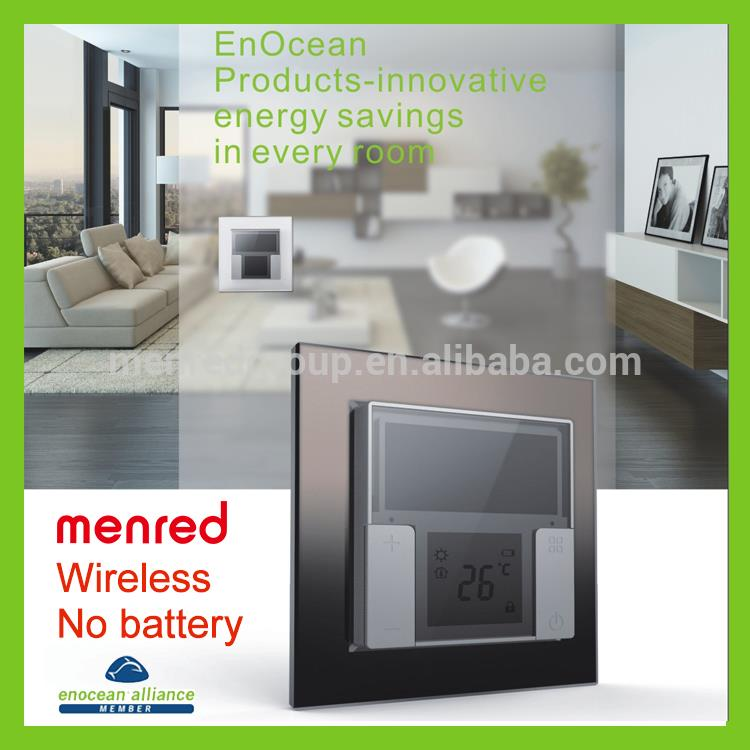 MENRED Home wall Solar power No batterty No wiring touch lamp control switch