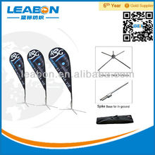 Advertising Tear Drop Flags and Banners
