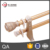 string special finial palace double curtain rod pole accessory