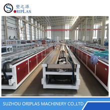 PVC Window and Door Profile Extrusion Line Roofing Profile Making Machine