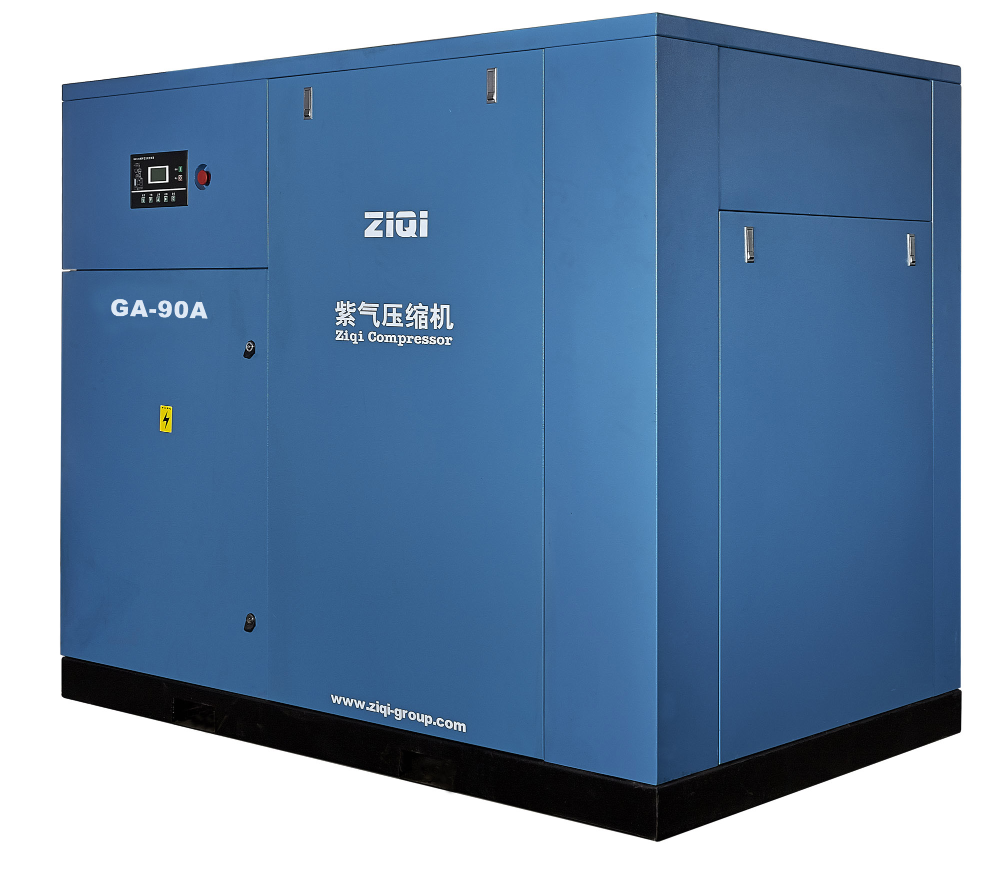 industrial air cooling portable diesel screw air compressor