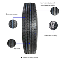 China TBR Tyre Truck Tire 315/70r22.5 Tire With Warranty