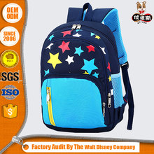 Best offer wholesale blue childern school book bag for boys