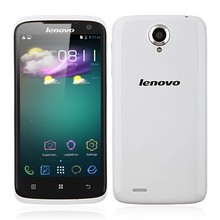 4.7 Inch HD Screen 13.0MP Camera White /Red Lenovo S820 Smartphone Android 4.2 MTK6589 3G