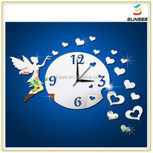 1-3mm Eco-friendly Best quality colorful digital acrylic cheap wall clock for kids