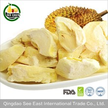 The Latest Crop Freeze Dried Durian chips Monthong from Thailand