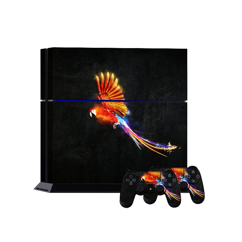 New custom shiny bird sticker for ps4 wholesale
