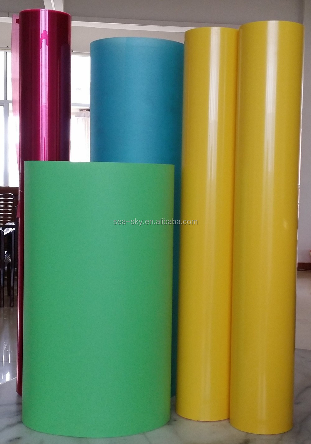 good price with any color of pp solid resign sheet