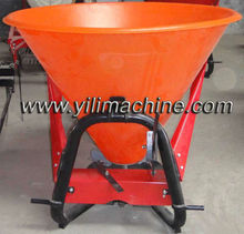 Tractor mounted fertilizer spreader salt spreader 3 point fertilizer spreader