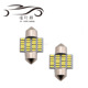 Festoon 3014 24smd 31/36/39/41mm Auto Lamp Reading dome roof Light 12V Led Car interior Light festoon bulbs