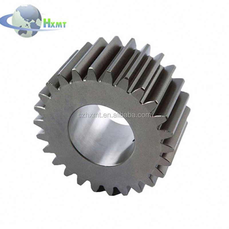 Super Customized high precision steel straight toothed spur gear