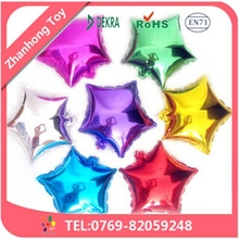 2015 hot sale good quality factory price wedding star foil balloon
