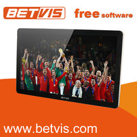 Powerful 19'' full color super thin touch ad screen