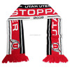 Cheap Jacquard Knitted Double Layers Muffler Sport Club Soccer Football Fan Scarf