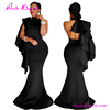 Fashion backless black evening sexy ladies maxi night long party dress