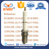 Factory customized OEM Henbrs For MWM spark plugs 12420290/12420480 fits MWM TBG 616 and 620 engines