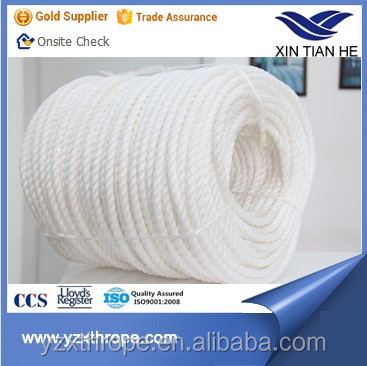 3 strand pp cordage high quality polypropylene rope pp plastic rolls