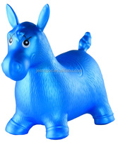 INFLATED RIDING PVC ANIMAL HORSE, JUMPING ANIMAL