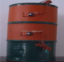 200*860 mm 220v Frost Prevention of Drum Cylinder Containers silicone oil drum heater