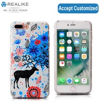 custom 3d print sublimation carton silicone phone tpu case for iphone 7/ 7 plus