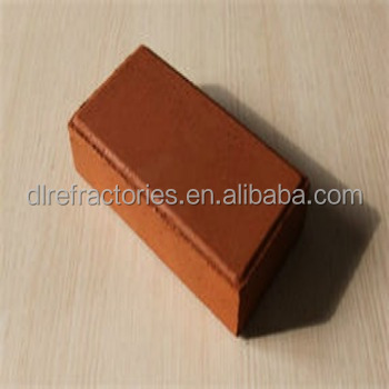 Size 230*110*40 red clay paving bricks /square bricks
