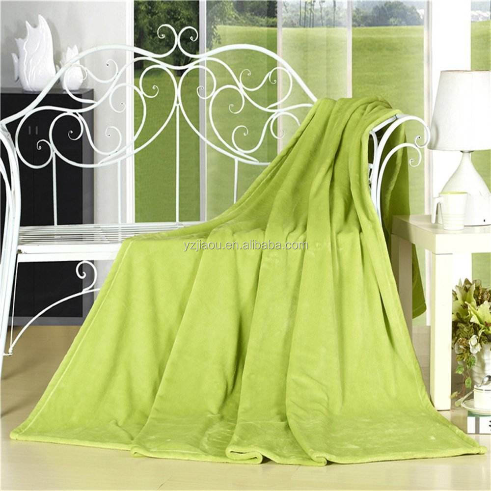 HOT SALE Free Sample plush fleece+sherpa fleece <strong>thick</strong> throw blanket