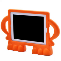 New products funny silicone back cover for iPad4,silicone back cover